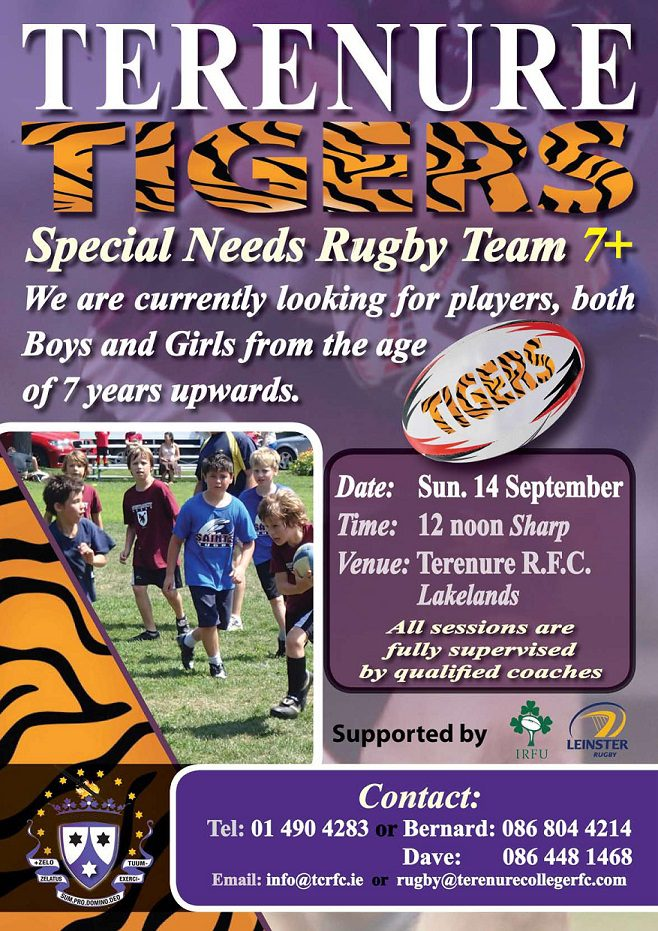 Terenure Tigers A3 Poster Sept 14 PS-page1