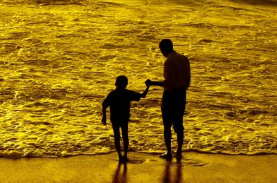 Father and son by Arvind Balaraman