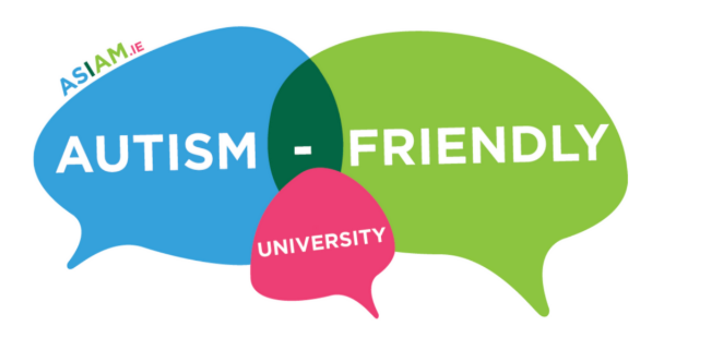 AsIAm Autism Friendly University Logo