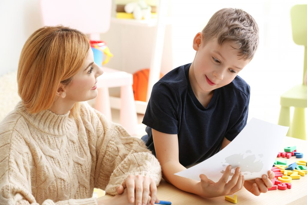 Child with SNA Support Worker