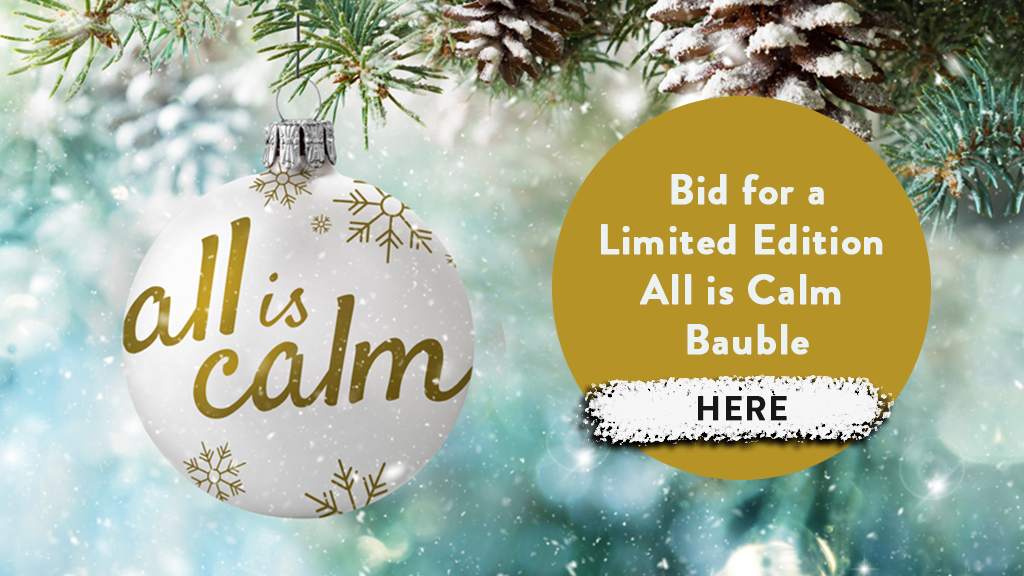 Bid for an all is calm bauble